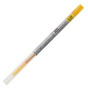 その他 (まとめ) 三菱鉛筆 ゲルインクボールペンスタイルフィット 替芯 0.38mm ゴールデンイエロー UMR10938.69 1セット(10本) 【×10セット】 ds-2226187