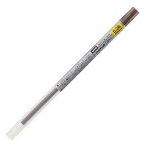 その他 (まとめ) 三菱鉛筆 ゲルインクボールペンスタイルフィット 替芯 0.38mm ブラウンブラック UMR10938.22 1セット(10本) 【×10セット】 ds-2226195