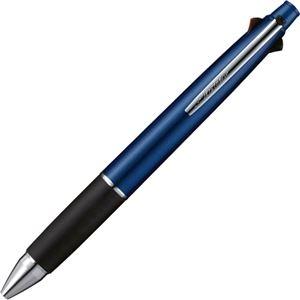 その他 (まとめ) 三菱鉛筆 多機能ペンジェットストリーム4&1 0.38mm (軸色:ネイビー) MSXE5100038.9 1本 【×10セット】 ds-2226249