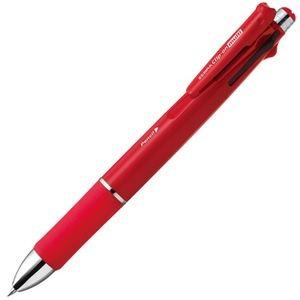 その他 (まとめ) ゼブラ 多機能ペン クリップ-オンマルチ 1000S (軸色 赤) B4SA3-R 1本 【×10セット】 ds-2226303