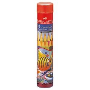 その他 (まとめ) ファーバーカステル 水彩色鉛筆 丸缶12色 TFC-115912 1セット 【×10セット】 ds-2226342