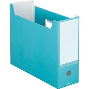 その他 (まとめ) コクヨ ファイルボックス(NEOS)A4ヨコ 背幅102mm ターコイズブルー A4-NELF-B 1セット(10冊) 【×10セット】 ds-2226709