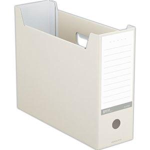 その他 (まとめ) コクヨ ファイルボックス(NEOS)A4ヨコ 背幅102mm オフホワイト A4-NELF-W 1セット(10冊) 【×10セット】 ds-2226715