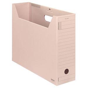 その他 (まとめ) コクヨファイルボックス-FS(Fタイプ) B4ヨコ 背幅102mm ピンク フタ付 B4-LFFN-P1セット(5冊) 【×10セット】 ds-2226723