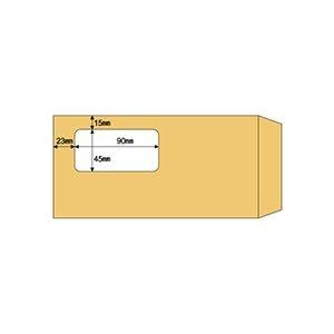 その他 (まとめ) ヒサゴ 窓つき封筒 A4三ツ折用クラフト紙 MF17 1箱(100枚) 【×10セット】 ds-2226925