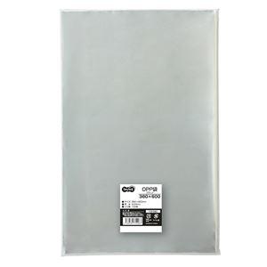 その他 (まとめ) TANOSEE OPP袋 フラット380×600mm 1パック(100枚) 【×10セット】 ds-2227022