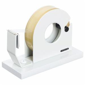 その他 (まとめ) ライオン事務器 テープカッター 大巻・小巻両用 65×150×110mm 白 No.40 1台 【×10セット】 ds-2227242