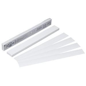 その他 (まとめ) ニチバン 製本テープ<再生紙>業務用 35×297mm 白 BKL-A4505 1パック(50枚) 【×10セット】 ds-2227276