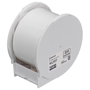 その他 キングジム テプラ Grand テープカートリッジ 50mm 透明 WL50T 1個 【×10セット】 ds-2227403