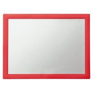 その他 スーパーメイト メディアマットポスター・ガラス用 枠赤 SM-1 1枚 【×10セット】 ds-2228294