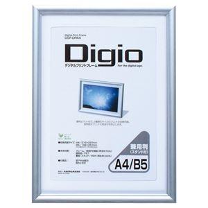 その他 デジタルプリントフレーム A4/B5判兼用 【×10セット】 ds-2228310