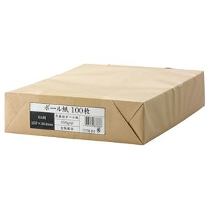 その他 (まとめ) 今村紙工 ボール紙 B4 業務用パック TTM-B4 1パック(100枚) 【×10セット】 ds-2228405