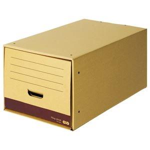 その他 (まとめ) TANOSEE ファイリングキャビネット ロングタイプ A4用 内寸W322×D544×H263mm 1個 【×10セット】 ds-2228604