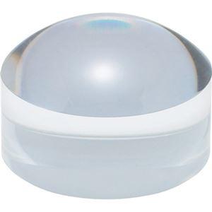 その他 (まとめ) 共栄プラスチック ドーム型ブロックルーペクリア BDL-1500 1個 【×10セット】 ds-2229468