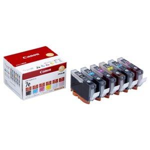 その他 (まとめ) キヤノン Canon インクタンク BCI-7e/6MP 6色マルチパック 1018B002 1箱(6個:各色1個) 【×10セット】 ds-2230393