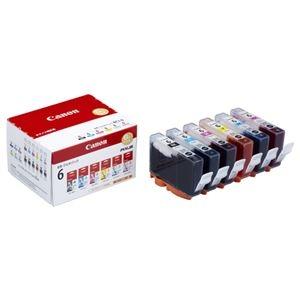 その他 (まとめ) キヤノン Canon インクタンク BCI-6/6MP 6色マルチパック 1777B002 1箱(6個:各色1個) 【×10セット】 ds-2230394