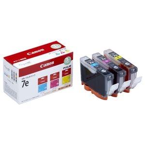 その他 (まとめ) キヤノン Canon インクタンク BCI-7e/3MP 3色マルチパック 1018B004 1箱(3個:各色1個) 【×10セット】 ds-2230403