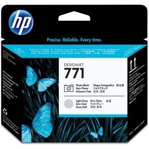 その他 (まとめ) HP771 プリントヘッド フォトブラック/ライトグレー CE020A 1個 【×10セット】 ds-2230607