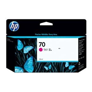 その他 (まとめ) HP70 インクカートリッジ マゼンタ 130ml 顔料系 C9453A 1個 【×10セット】 ds-2230640