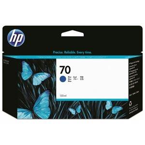 その他 (まとめ) HP70 インクカートリッジ ブルー 130ml 顔料系 C9458A 1個 【×10セット】 ds-2230641