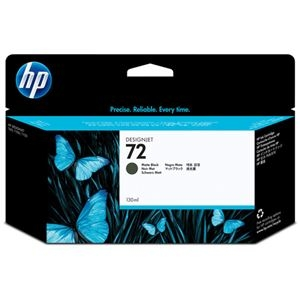 その他 (まとめ) HP72 インクカートリッジ マットブラック 130ml 顔料系 C9403A 1個 【×10セット】 ds-2230647