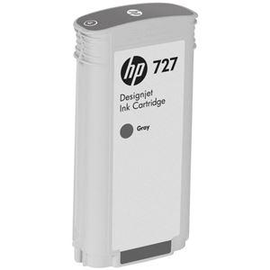 その他 (まとめ) HP727 インクカートリッジ 染料グレー 130ml B3P24A 1個 【×10セット】 ds-2230656