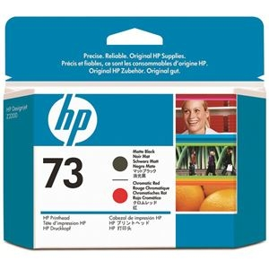 その他 (まとめ) HP73 プリントヘッド マットブラック/クロムレッド CD949A 1個 【×10セット】 ds-2230661