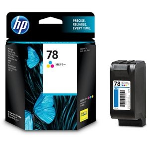その他 (まとめ) HP78 プリントカートリッジ カラー C6578DA#003 1個 【×10セット】 ds-2230692