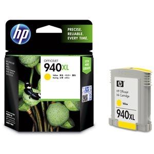 その他 (まとめ) HP940XL インクカートリッジ イエロー C4909AA 1個 【×10セット】 ds-2230733