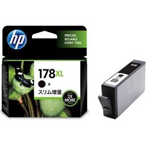 その他 (まとめ) HP178XL インクカートリッジ 黒 スリム増量 CN684HJ 1個 【×10セット】 ds-2230747