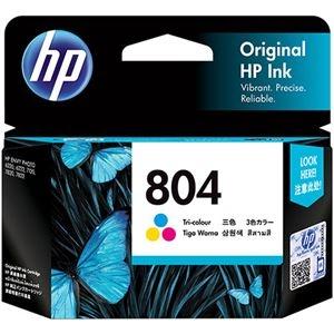 その他 (まとめ) HP HP804 インクカートリッジカラー T6N09AA 1個 【×10セット】 ds-2230754