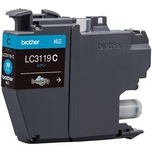 その他 (まとめ) ブラザー インクカートリッジ シアン大容量 LC3119C 1個 【×10セット】 ds-2230789
