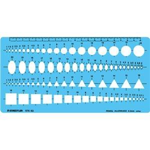 その他 (まとめ) ステッドラー テンプレート 組合せ定規 エッジ付 976 03 1枚 【×10セット】 ds-2230990