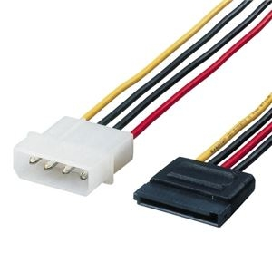 その他 (まとめ) エレコム シリアルATA電源変換ケーブルSATA電源コネクタ15-ノーマル4ピン 0.5m CFD-SAT2P05 1本 【×10セット】 ds-2231329