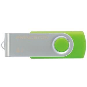 その他 (まとめ) プリンストン USBフラッシュメモリー回転式カバー 32GB グリーン PFU-T2KT/32GGR 1個 【×10セット】 ds-2231426