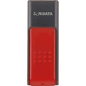 その他 (まとめ) RiDATA ラベル付USBメモリー32GB ブラック/レッド RDA-ID50U032GBK/RD 1個 【×10セット】 ds-2231431