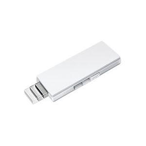 その他 (まとめ) バーベイタム USBメモリーフリーデザインタイプ 8GB ホワイト インデックスラベル付 USBF8GVW1 1個 【×10セット】 ds-2231442