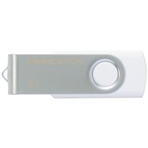 その他 (まとめ) プリンストン USBフラッシュメモリー回転式カバー 4GB ホワイト PFU-T2KT/4GWH 1個 【×10セット】 ds-2231497