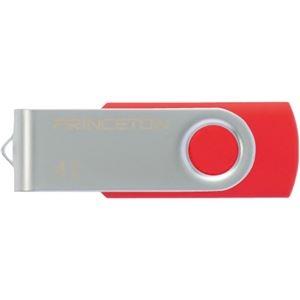 その他 (まとめ) プリンストン USBフラッシュメモリー回転式カバー 4GB レッド PFU-T2KT/4GRD 1個 【×10セット】 ds-2231500