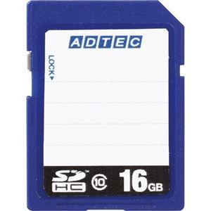 その他 (まとめ) アドテック SDHCメモリカード16GB Class10 インデックスタイプ AD-SDTH16G/10R 1枚 【×10セット】 ds-2231514