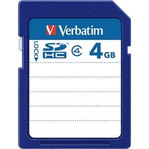 その他 (まとめ) バーベイタム SDHCカード 4GBClass4 SDHC4GYVB1 1枚 【×10セット】 ds-2231524