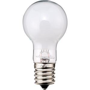 その他 (まとめ) TANOSEE ミニクリプトン電球 60W形 E17口金 ホワイトタイプ 1パック(6個) 【×10セット】 ds-2231600