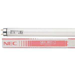 その他 (まとめ) NEC 蛍光ランプ ライフライン 直管グロースタータ形 20W形 白色 FL20SSW18/4K-L 1パック(4本) 【×10セット】 ds-2231603
