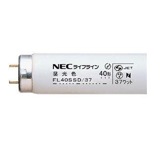 その他 (まとめ) NEC 蛍光ランプ ライフラインII 直管グロースタータ形 40W形 昼光色 FL40SSD/37/4K-L 1パック(4本) 【×10セット】 ds-2231605