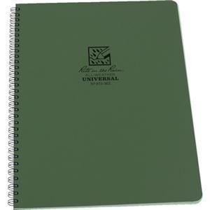その他 ライトインザレインスパイラルノートブック ユニバーサル グリーン 973-MX 1冊 【×10セット】 ds-2231650