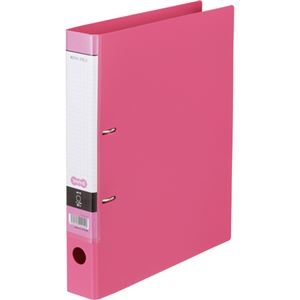 その他 (まとめ) Dリングファイル A4-S 背幅45mm ピンク 10冊 【×10セット】 ds-2231969