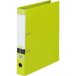 その他 (まとめ) Dリングファイル A4-S 背幅45mm ライトグリーン 10冊 【×10セット】 ds-2231970