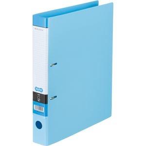その他 (まとめ) Dリングファイル A4-S 背幅45mm ライトブルー 10冊 【×10セット】 ds-2231971