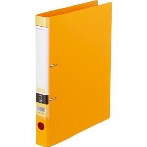 その他 (まとめ) Dリングファイル A4-S 背幅37mm オレンジ 10冊 【×10セット】 ds-2231977
