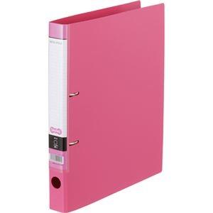 その他 (まとめ) Dリングファイル A4-S 背幅37mm ピンク 10冊 【×10セット】 ds-2231978